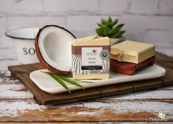 Coconut Soap Bar with label