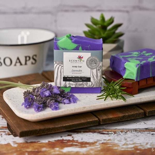 Lavender and Rosemary Soap Bar