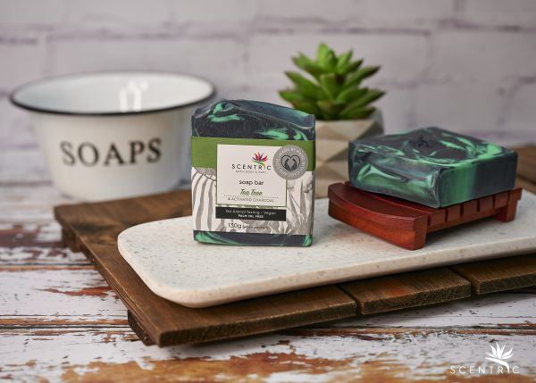 Tea Tree and Activated Charcoal Soap Bar