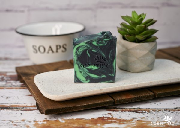 Tea Tree and Activated Charcoal Soap Bar no label